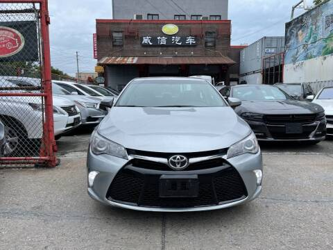2015 Toyota Camry for sale at TJ AUTO in Brooklyn NY