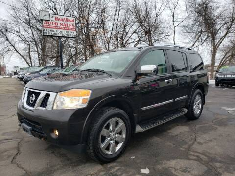2011 Nissan Armada for sale at Real Deal Auto Sales in Manchester NH