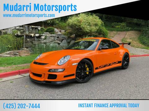 2007 Porsche 911 for sale at Mudarri Motorsports in Kirkland WA