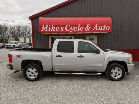 2011 Chevrolet Silverado 1500 for sale at MIKE'S CYCLE & AUTO in Connersville IN