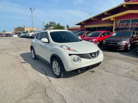 2013 Nissan JUKE for sale at T & D Motor Company in Bethany OK