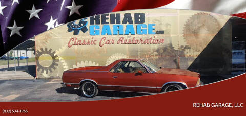 1979 Chevrolet El Camino for sale at Rehab Garage, LLC in Tomball TX