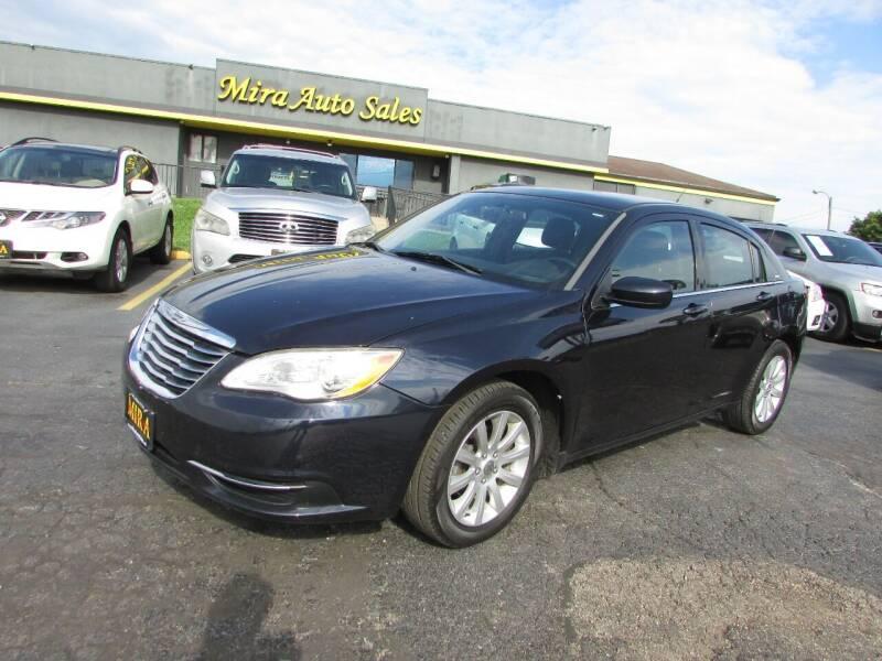 2011 Chrysler 200 for sale at MIRA AUTO SALES in Cincinnati OH