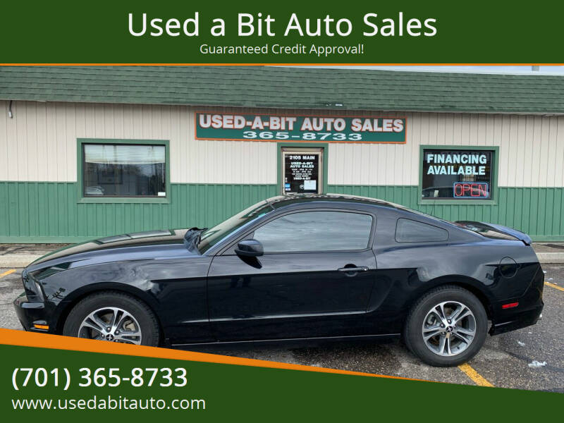 2014 Ford Mustang for sale at Used a Bit Auto Sales in Fargo ND