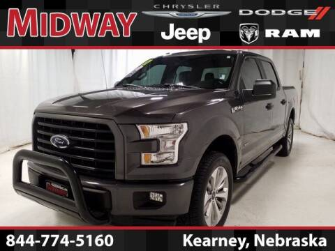 2017 Ford F-150 for sale at MIDWAY CHRYSLER DODGE JEEP RAM in Kearney NE