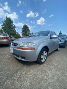 2007 Chevrolet Aveo for sale at M AND S CAR SALES LLC in Independence OR