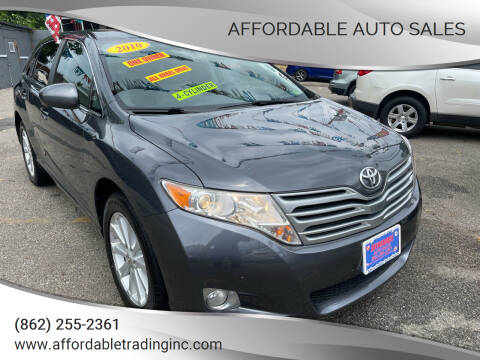 2010 Toyota Venza for sale at Affordable Auto Sales in Irvington NJ