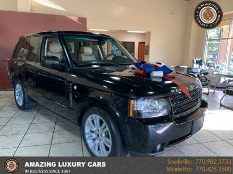 2012 Land Rover Range Rover for sale at Amazing Luxury Cars in Snellville GA