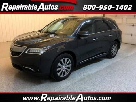 2015 Acura MDX for sale at Ken's Auto in Strasburg ND