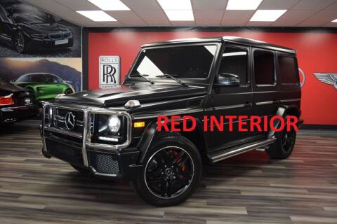 2017 Mercedes-Benz G-Class for sale at Icon Exotics in Houston TX