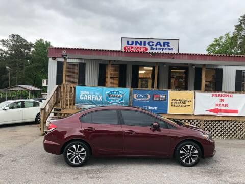 2014 Honda Civic for sale at Unicar Enterprise in Lexington SC