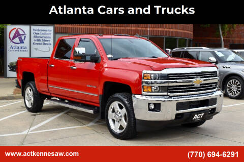 2015 Chevrolet Silverado 2500HD for sale at Atlanta Cars and Trucks in Kennesaw GA