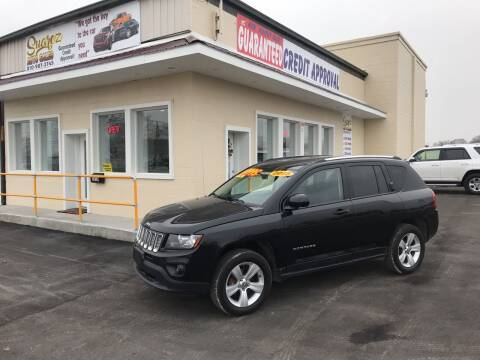 2015 Jeep Compass for sale at Suarez Auto Sales in Port Huron MI