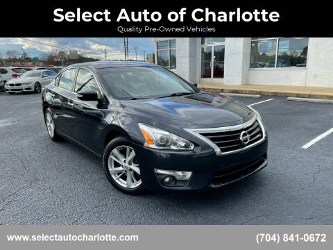 2015 Nissan Altima for sale at Select Auto of Charlotte in Matthews NC