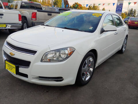2012 Chevrolet Malibu for sale at KENT GRAND AUTO SALES LLC in Kent WA