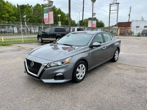 2020 Nissan Altima for sale at Saipan Auto Sales in Houston TX