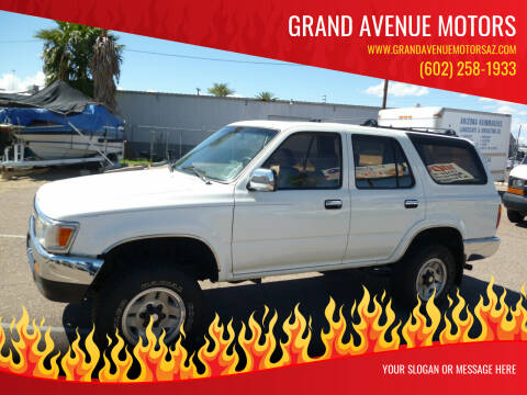 1995 Toyota 4Runner for sale at Grand Avenue Motors in Phoenix AZ