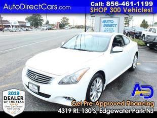 2013 Infiniti G37 Coupe for sale at Auto Direct Trucks.com in Edgewater Park NJ