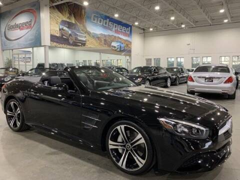 2018 Mercedes-Benz SL-Class for sale at Godspeed Motors in Charlotte NC