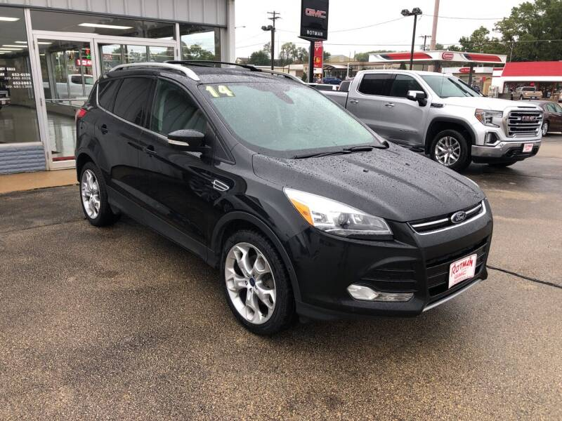 2014 Ford Escape for sale at ROTMAN MOTOR CO in Maquoketa IA