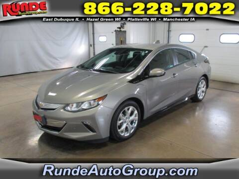 2017 Chevrolet Volt for sale at Runde Chevrolet in East Dubuque IL