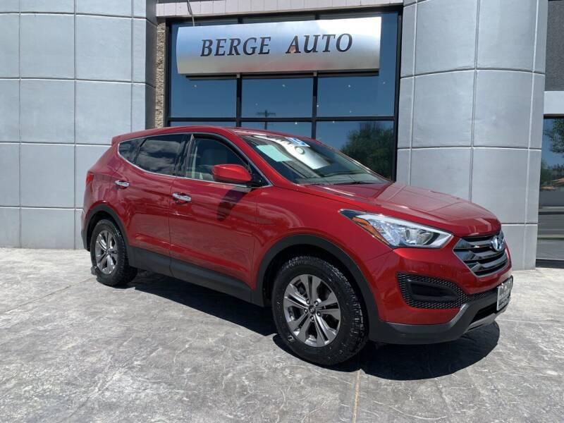2015 Hyundai Santa Fe Sport for sale at Berge Auto in Orem UT