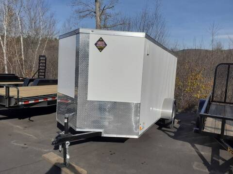 2021 Peach Cargo 6x12 Enclosed Trailer for sale at Mascoma Auto INC in Canaan NH