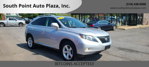 2012 Lexus RX 350 for sale at South Point Auto Plaza, Inc. in Albany NY