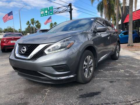 2018 Nissan Murano for sale at Gtr Motors in Fort Lauderdale FL
