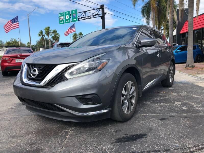 2018 Nissan Murano for sale at Gtr Motors in Fort Lauderdale FL