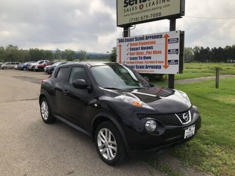 2014 Nissan JUKE for sale at Sensible Sales & Leasing in Fredonia NY