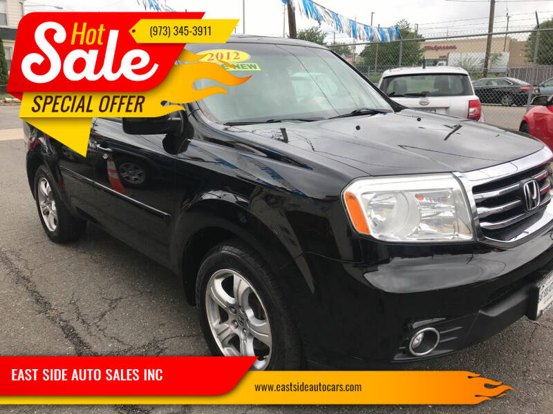 2012 Honda Pilot for sale at EAST SIDE AUTO SALES INC in Paterson NJ