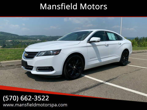2019 Chevrolet Impala for sale at Mansfield Motors in Mansfield PA