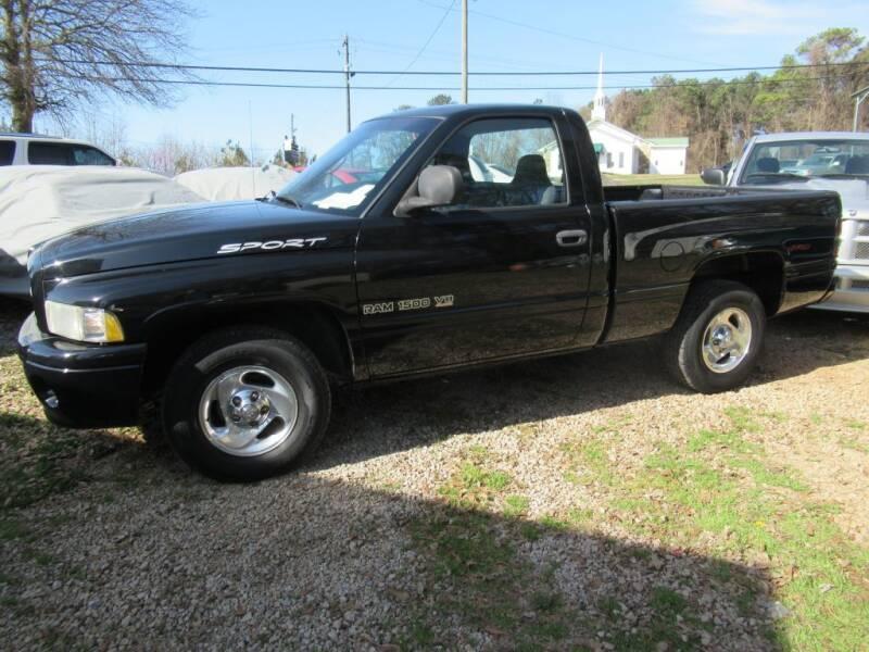 1999 Dodge Ram Pickup 1500 for sale at Dallas Auto Mart in Dallas GA