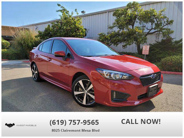 2017 Subaru Impreza for sale at INVESTAMOBILE in San Diego CA