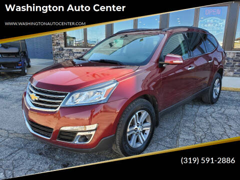 2017 Chevrolet Traverse for sale at Washington Auto Center in Washington IA
