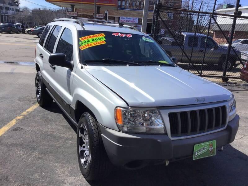2004 Jeep Grand Cherokee for sale at Adams Street Motor Company LLC in Boston MA