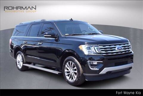 2018 Ford Expedition MAX for sale at BOB ROHRMAN FORT WAYNE TOYOTA in Fort Wayne IN