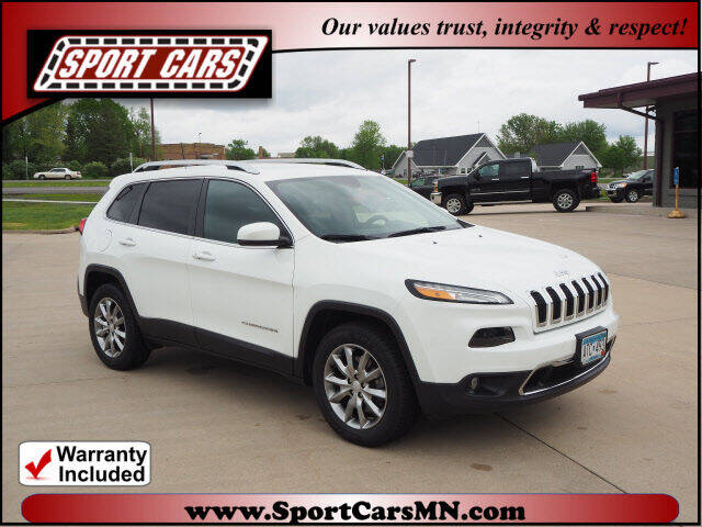 2018 Jeep Cherokee for sale at SPORT CARS in Norwood MN