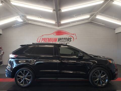 2017 Ford Edge for sale at Premium Motors in Villa Park IL