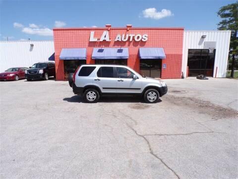 2004 Honda CR-V for sale at L A AUTOS in Omaha NE