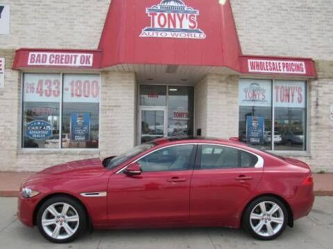 2018 Jaguar XE for sale at Tony's Auto World in Cleveland OH