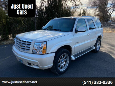 2005 Cadillac Escalade for sale at Just Used Cars in Bend OR