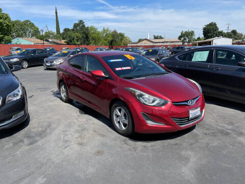 2015 Hyundai Elantra for sale at Mega Motors Inc. in Stockton CA