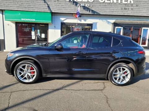 2018 Alfa Romeo Stelvio for sale at Auto Sales Center Inc in Holyoke MA