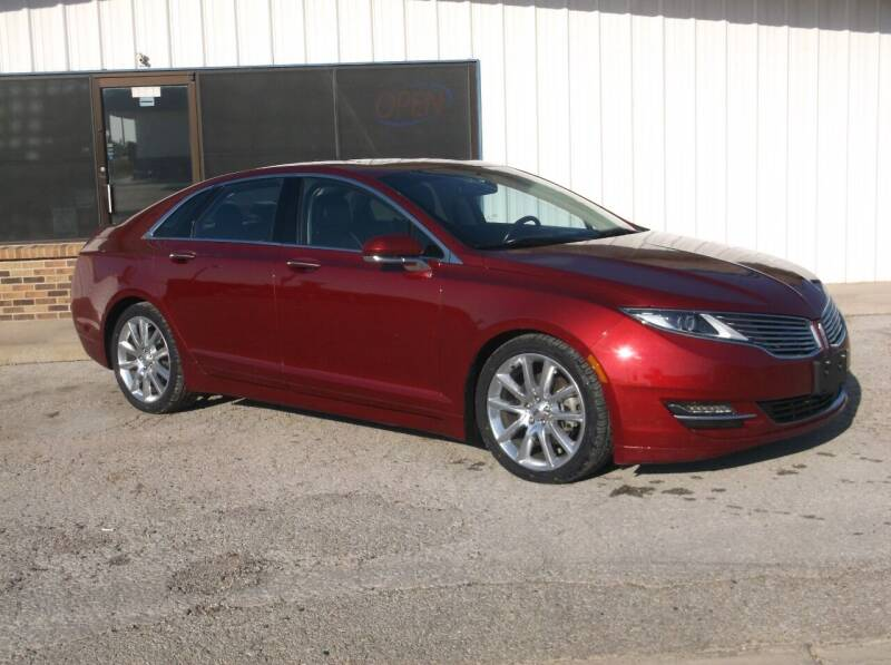 2016 Lincoln MKZ for sale at AUTO TOPIC in Gainesville TX