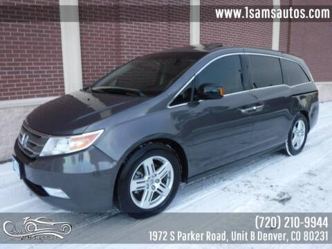 2013 Honda Odyssey for sale at SAM'S AUTOMOTIVE in Denver CO