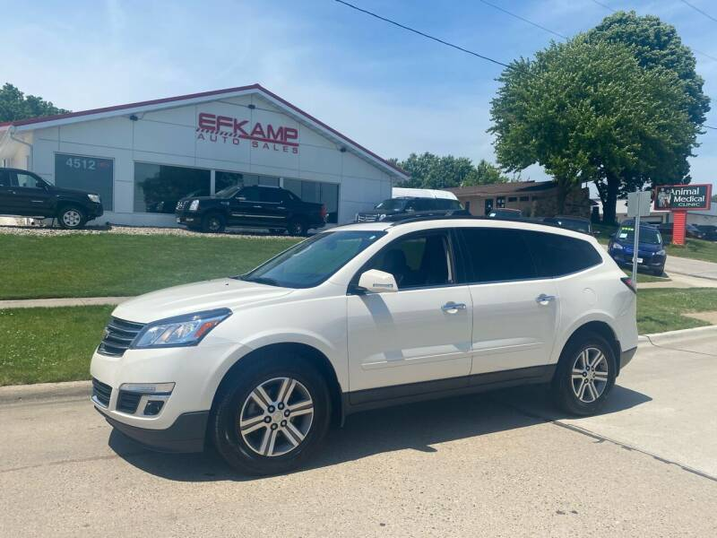 2015 Chevrolet Traverse for sale at Efkamp Auto Sales LLC in Des Moines IA