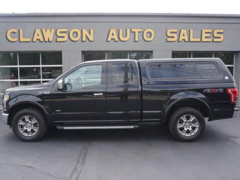 2016 Ford F-150 for sale at Clawson Auto Sales in Clawson MI