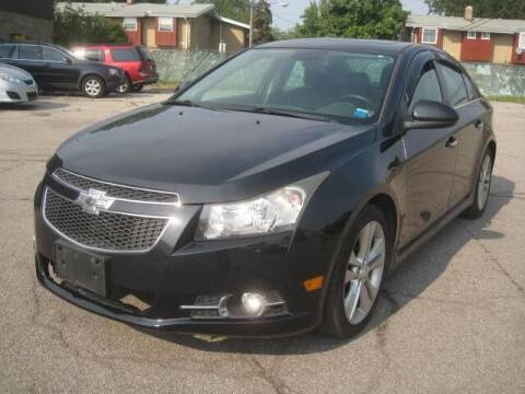 2013 Chevrolet Cruze for sale at ELITE AUTOMOTIVE in Euclid OH
